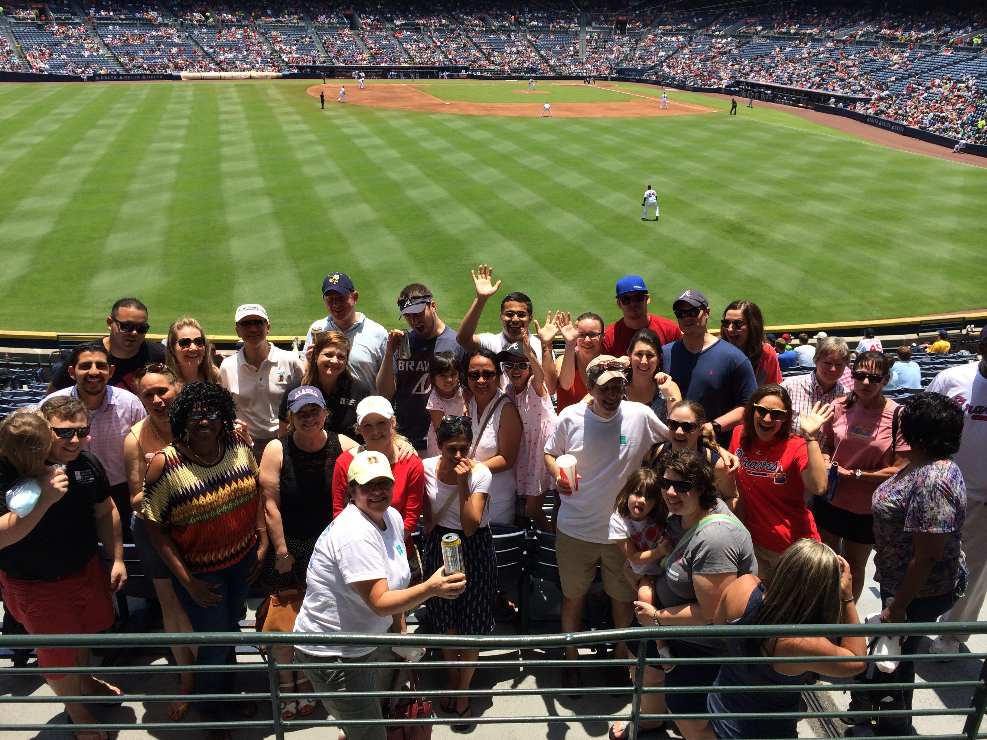WBL's 2015 family day at the Atlanta Braves game.