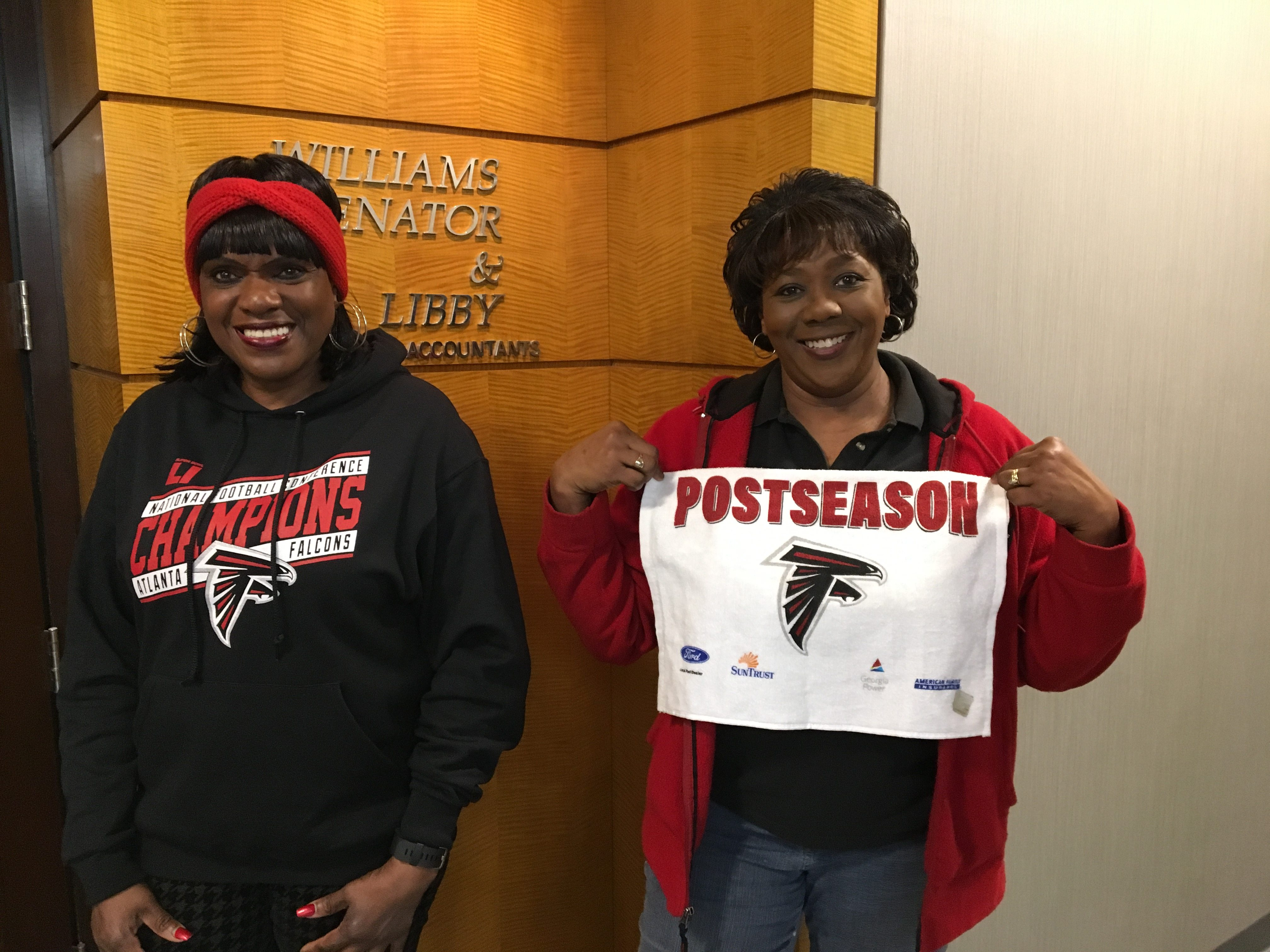 Ann and Brenda are ready to Rise Up!